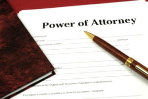 Power of attorney refers to a set of legal documents